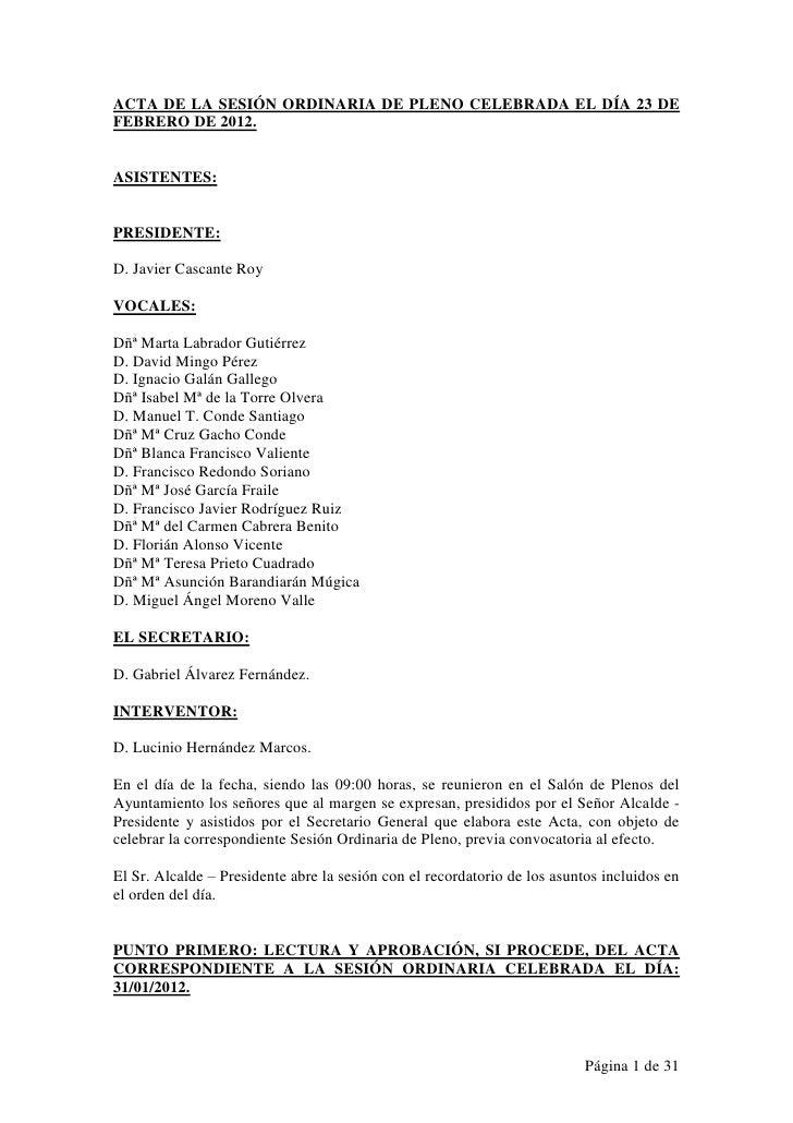 Acta 23/02/2012