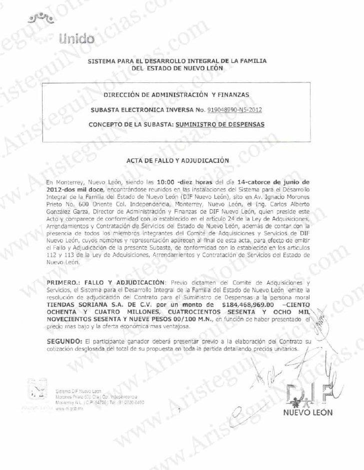 Actas Nuevo León