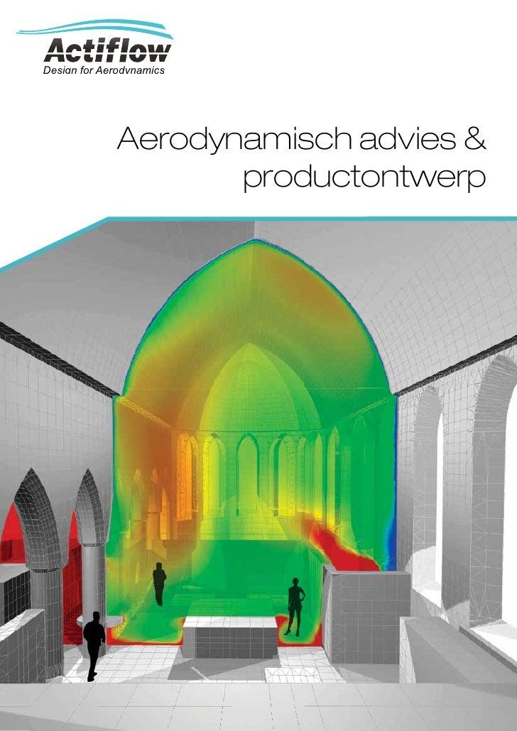 Design for Aerodynamics              Aerodynamisch advies &                     productontwerp