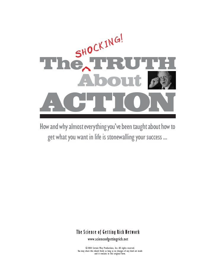 The Shocking Truth About Action