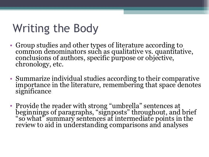 Related Review Of Literature In Research