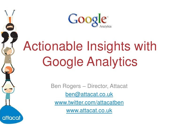 Actionable insights with Google Analytics - Edinburgh Chamber of Commerce