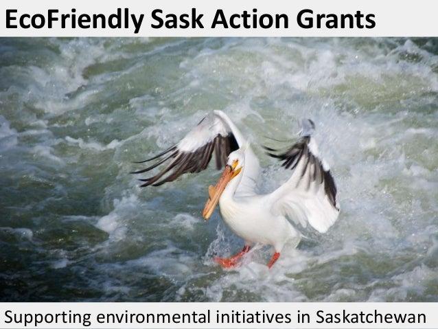 EcoFriendly Sask Action Grants
