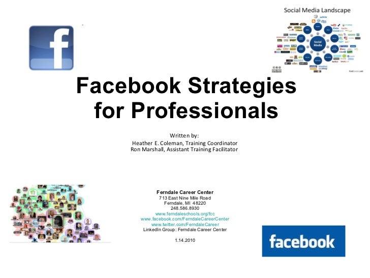 Action Guide   Facebook   1.03.2010