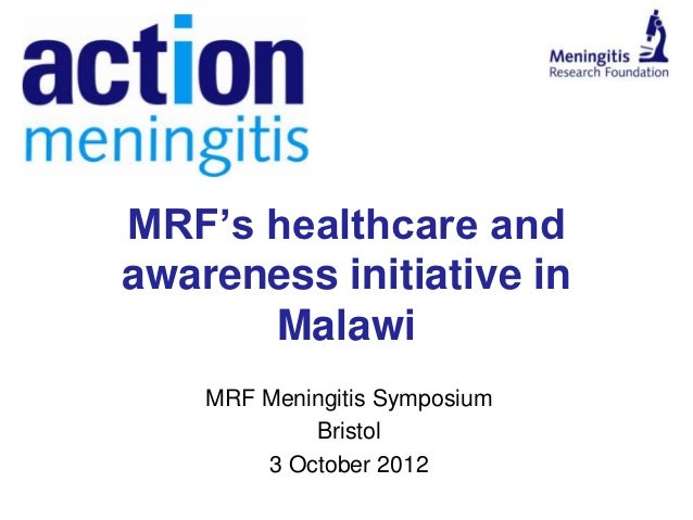 Action meningitis: Meningitis Research Foundation healthcare and awareness initiative in Malawi