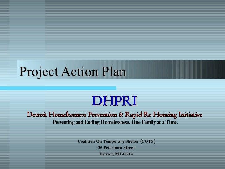 HPRP Action Plan