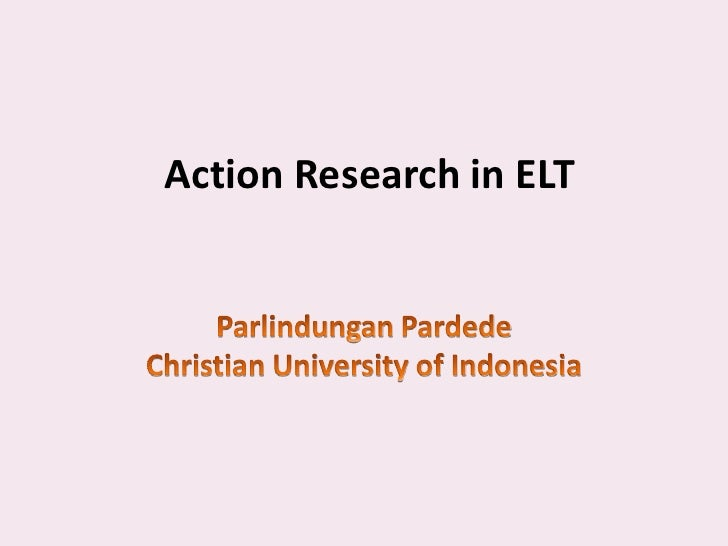 Action Research in ELT