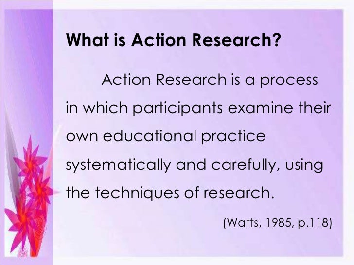 Action research paper topics
