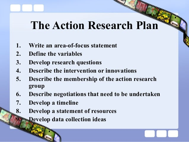 Action research paper outline