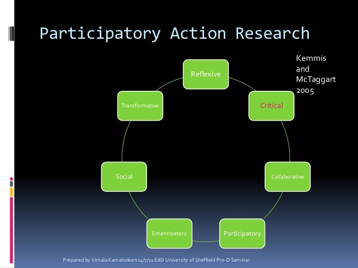 participatory action research methods pdf
