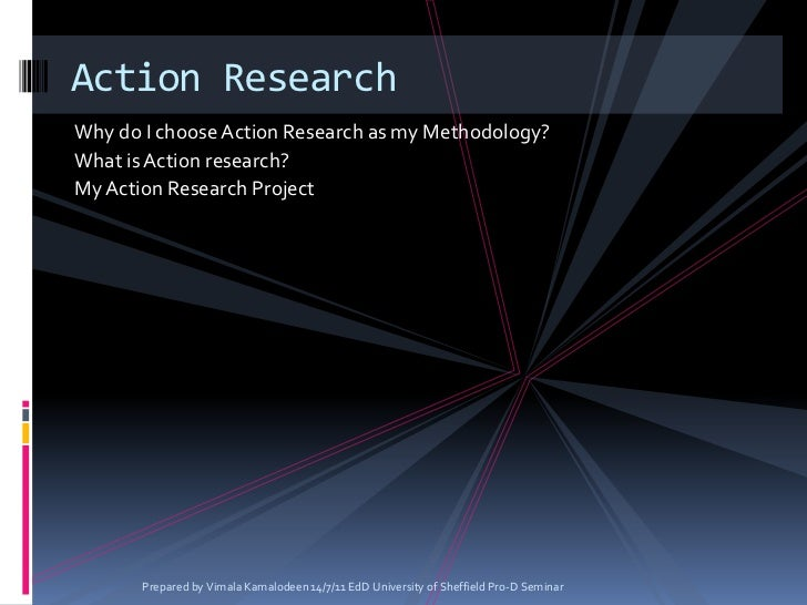 action research paper edd 560