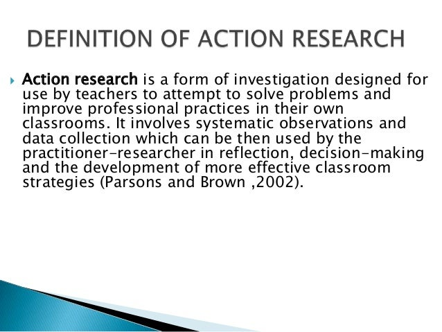 Paper action research