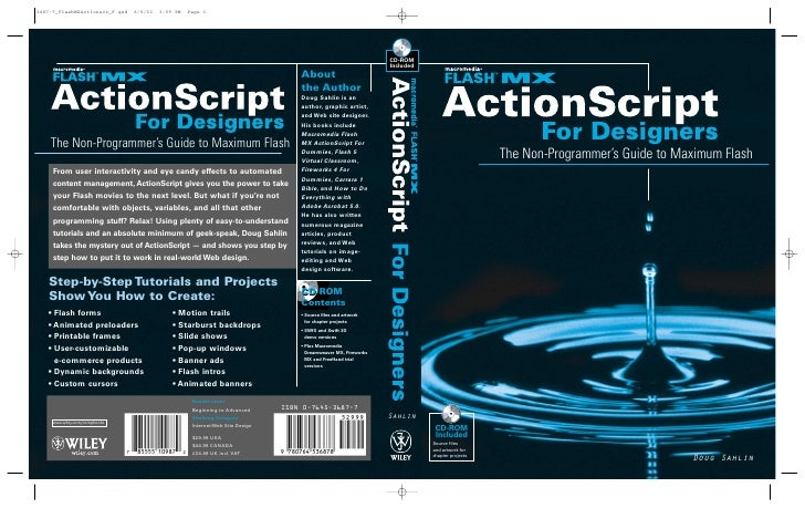 Action script for designers