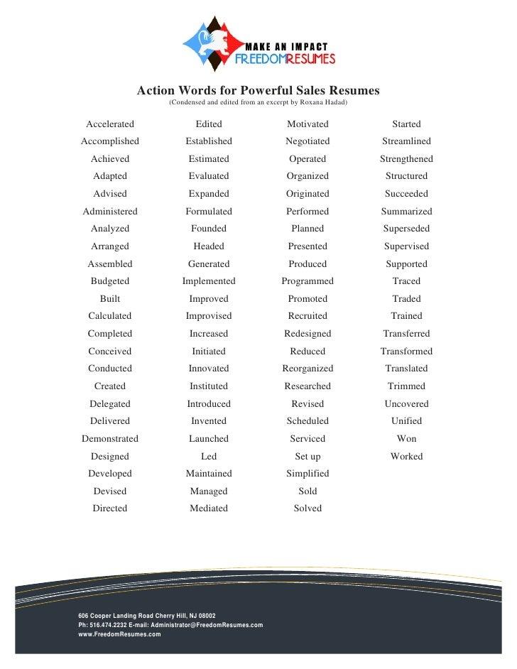 Key Resume Words,resume key phrases example of keywords key ...