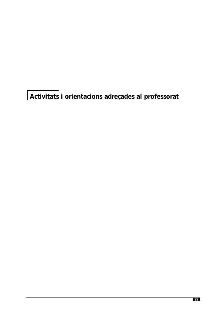 Els audiovisuals a l'Educació InfantilActivitats i orientacions adreçades al professorat                                  ...