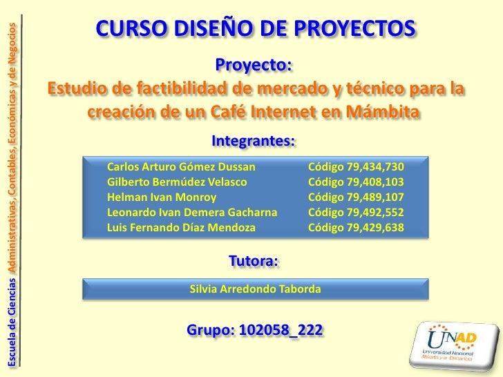 Diseño de Proyecto - Trabajo Final - Borrador