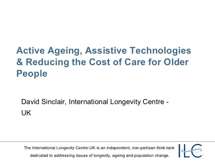Active ageing and technology