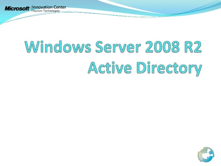 Active directory ds ws2008 r2
