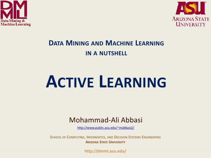 DATA MINING AND MACHINE LEARNING                                                                 IN A NUTSHELL            ...