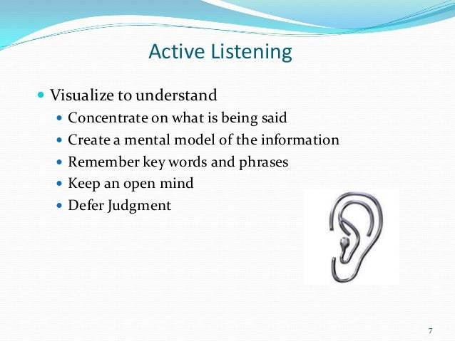 listening papers research skill