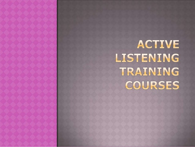 So what exactly is active listening training andhow can you use it to improve communicationacross your organisation?If you...