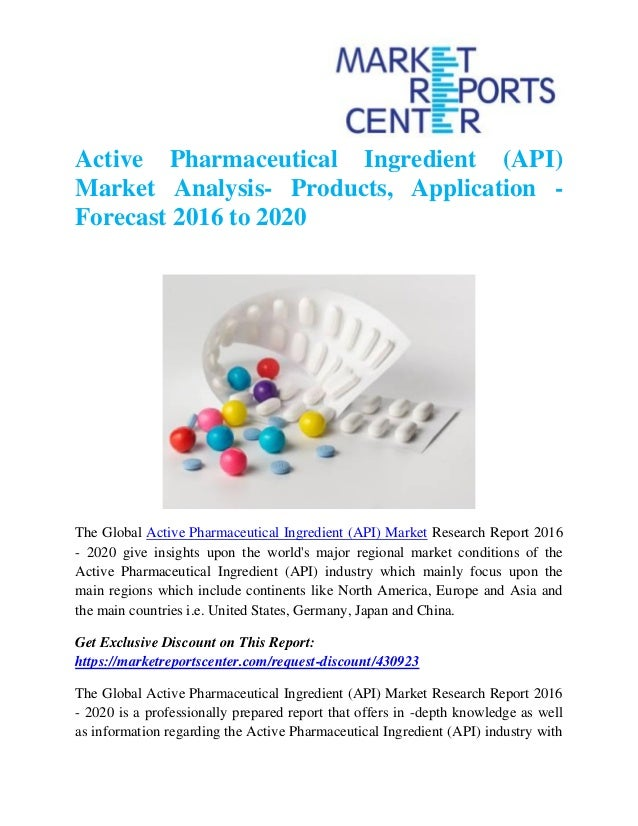 active pharmaceutical ingredients api Active pharmaceutical ingredients (api) market analysis offers latest trends, growth prospects, regional market share, market size, industry competitiveness.