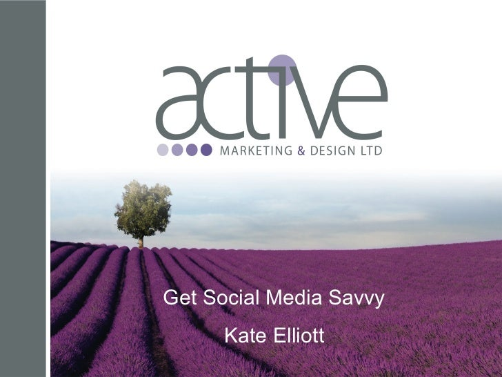 Get Social Media Savvy for KCJ STePS
