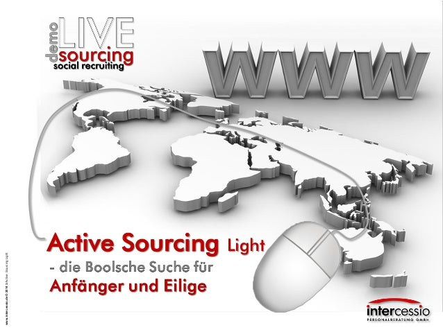 Active Sourcing Light - Boolsche Suche für Anfänger und Eilige