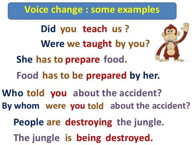 Help on written passive voice