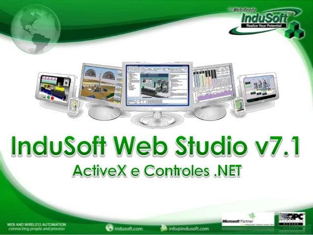 ActiveX1. Microsoft Slider Control   Via Tags2. Web Browser   Via Tags   Via VBScript.NET1. Progress Bar    Via Built-in F...