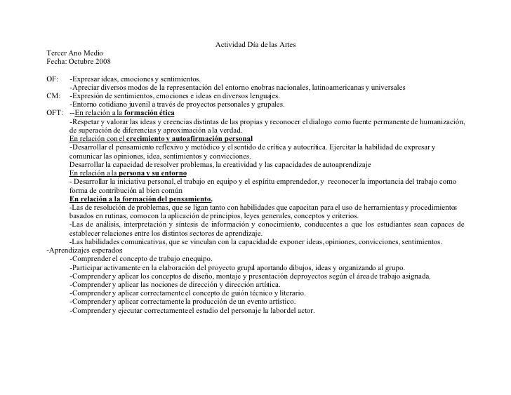 pautas de evaluacion 3medio