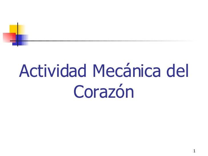Actividad MecáNica Del CorazóN Set 2004