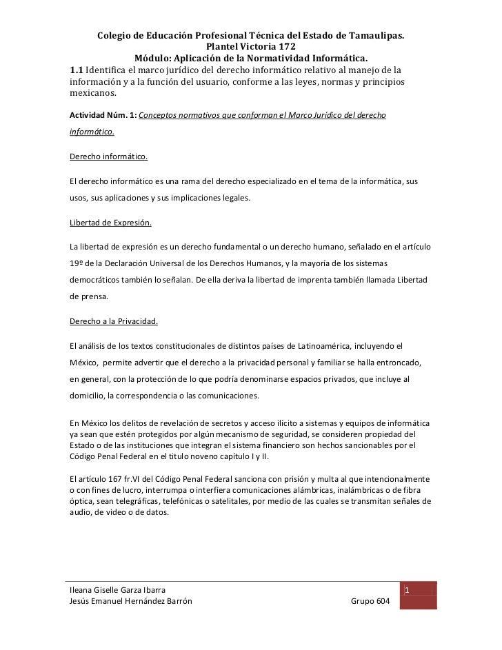 Colegio de Educación Profesional Técnica del Estado de Tamaulipas.                                  Plantel Victoria 172  ...