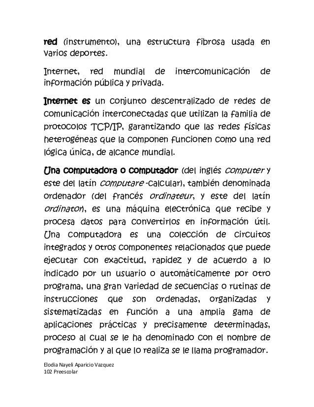 red (instrumento), una estructura fibrosa usada envarios deportes.Internet, red mundial de                   intercomunica...