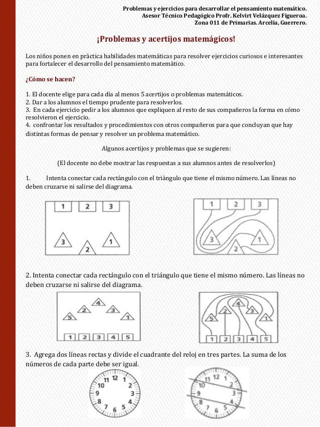 Libro acertijos matematicos pdf