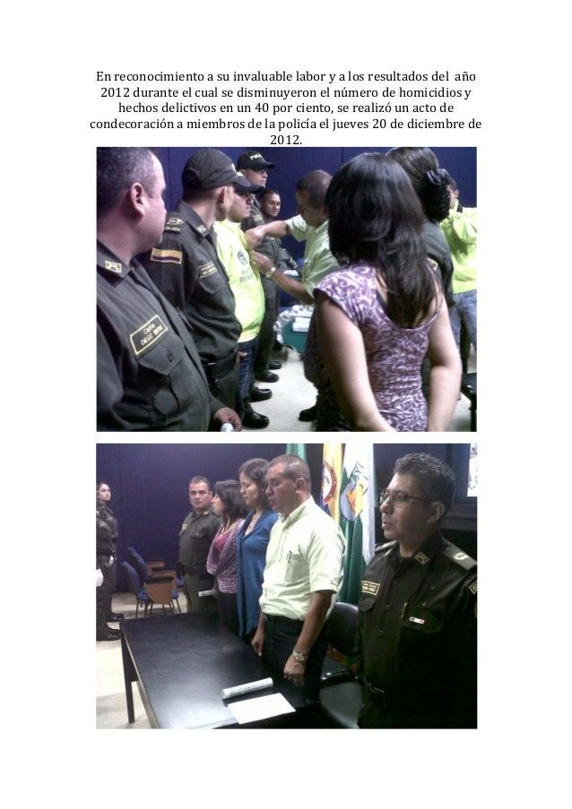 Actividades 20 de diciembre de 2012