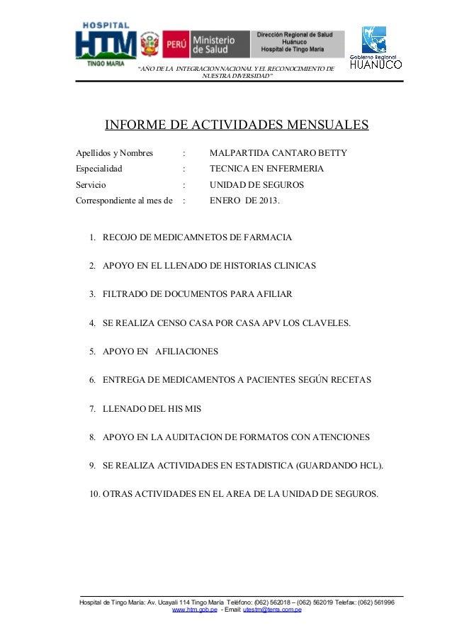 """""""AÑO DE LA INTEGRACION NACIONAL Y EL RECONOCIMIENTO DE                                       NUESTRA DIVERSIDAD""""          ..."""
