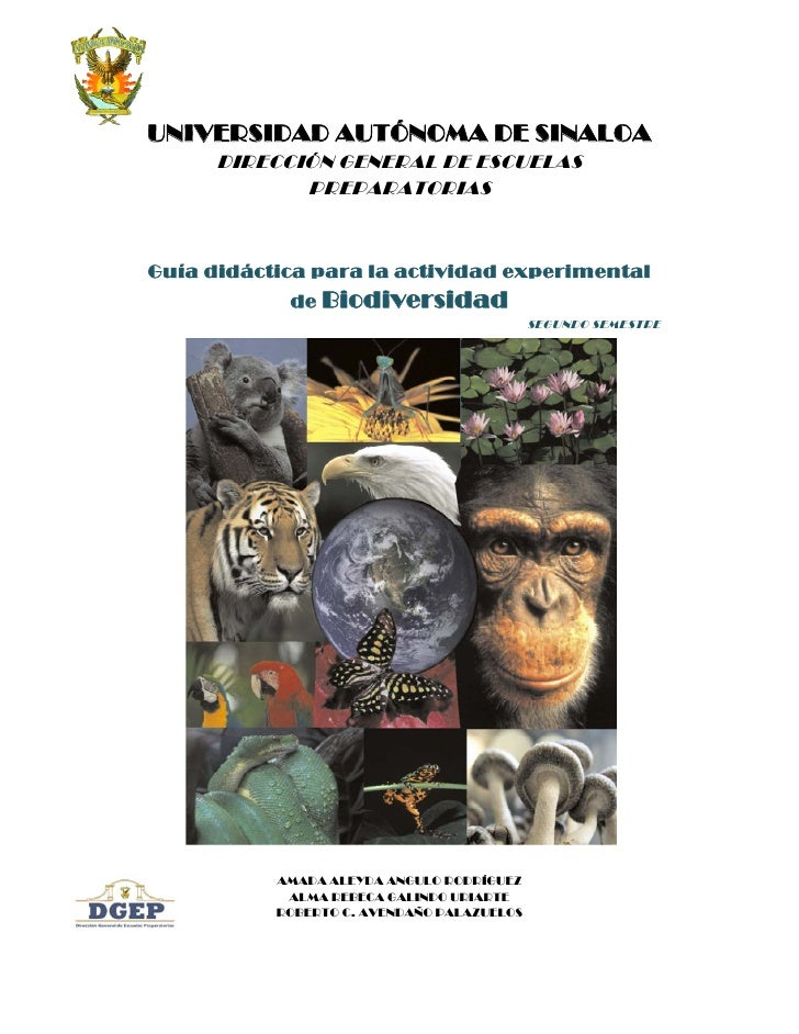 Actividades biodiversidad