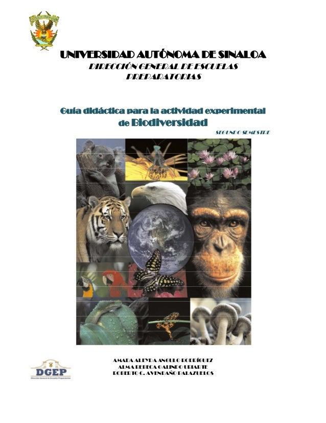 UNIVERSIDAD AUTÓNOMA DE SINALOA      DIRECCIÓN GENERAL DE ESCUELAS             PREPARATORIASGuía didáctica para la activid...