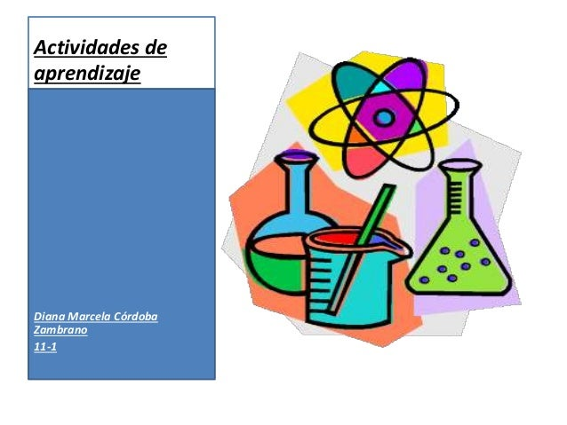 Actividades de aprendizaje Diana Marcela Córdoba Zambrano 11-1