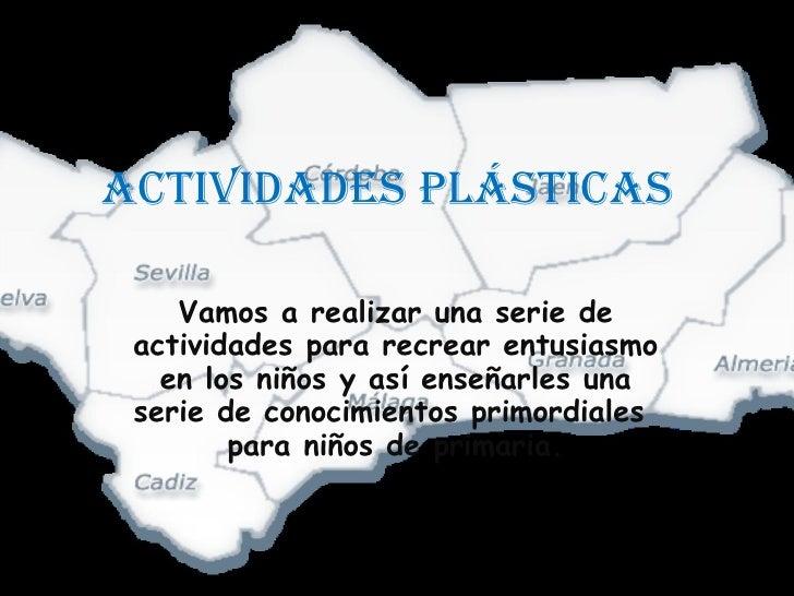 Actividades PláSticas