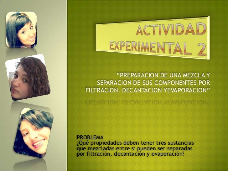 Actividad experimental 2