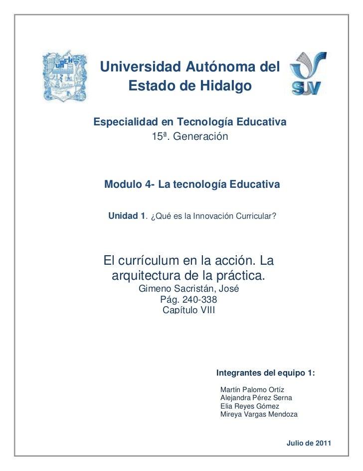 Universidad Autónoma del Estado de Hidalgo4996815-320675-175260-368300      Especialidad en Tecnología Educativa 15ª. Gene...