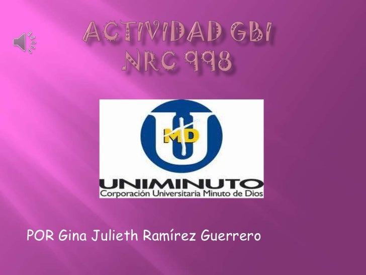 Actividad gbi