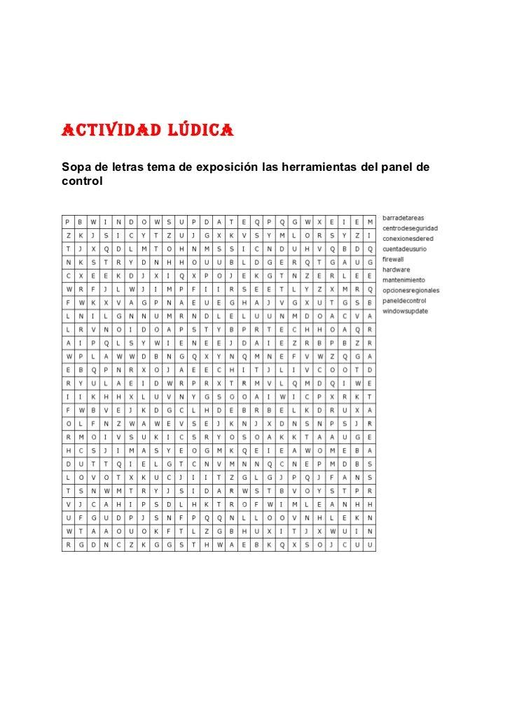 Actividad lúdica
