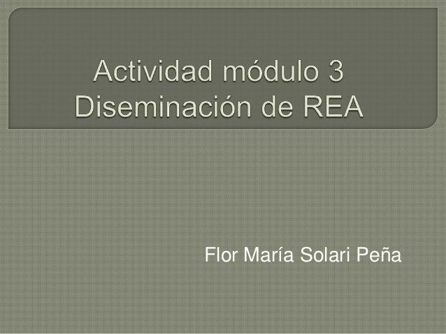 Flor María Solari Peña