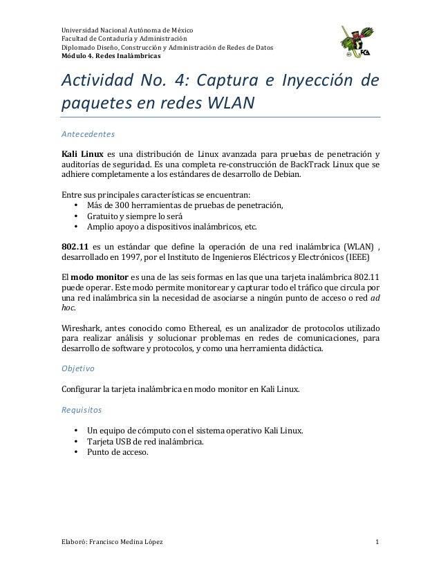 Universidad  Nacional  Autónoma  de  México   Facultad  de  Contaduría  y  Administración   Diplomado...