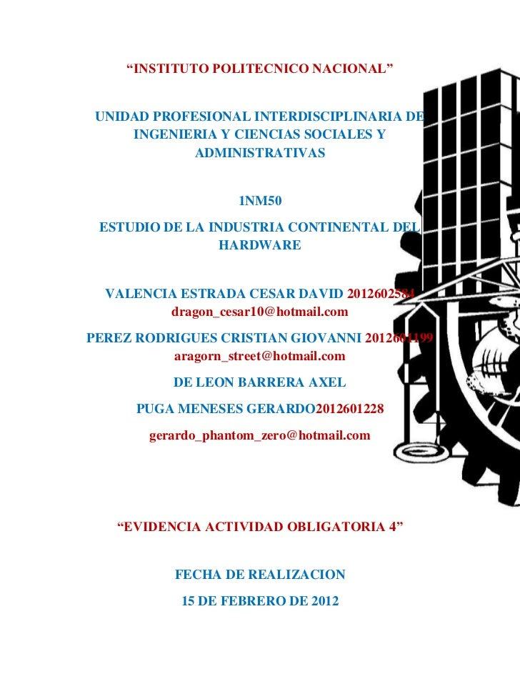 """""""INSTITUTO POLITECNICO NACIONAL"""" UNIDAD PROFESIONAL INTERDISCIPLINARIA DE     INGENIERIA Y CIENCIAS SOCIALES Y            ..."""