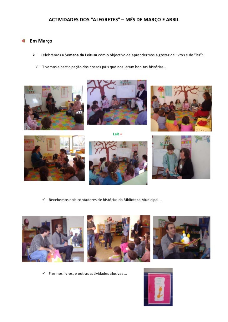 "ACTIVIDADESDOS""ALEGRETES""–MÊSDEMARÇOEABRIL                                                      EmMarço      ..."