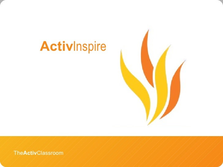 The Activ Classroom Activ Inspire